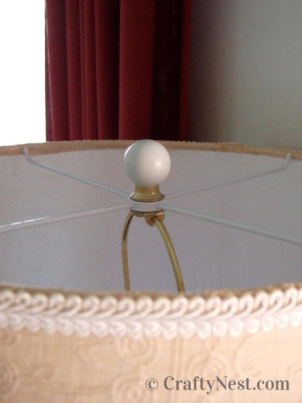 Handmade ball finial. photo