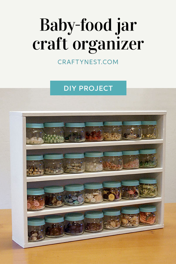 Crafty Nest odds and ends rack Pinterest photo