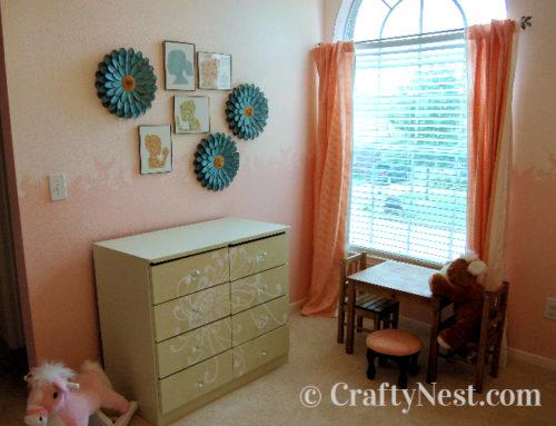 Heika's DIY little girl's bedroom
