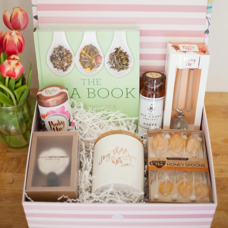 Tea lover gift box, photo