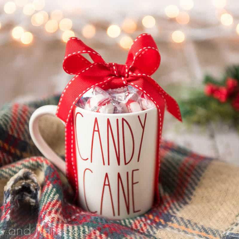 Candy cane mug, photo