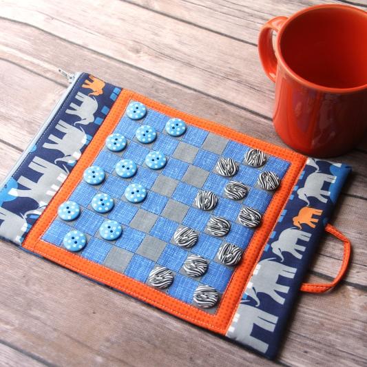 DIY game board mug mat, photo