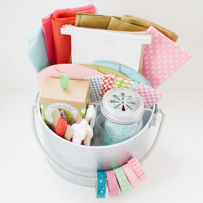 Gift wrap caddy, photo