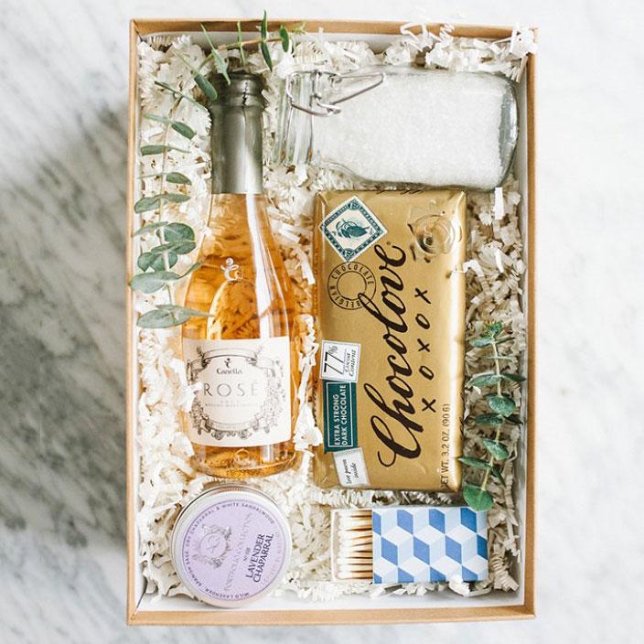 Bubble bath gift box, photo