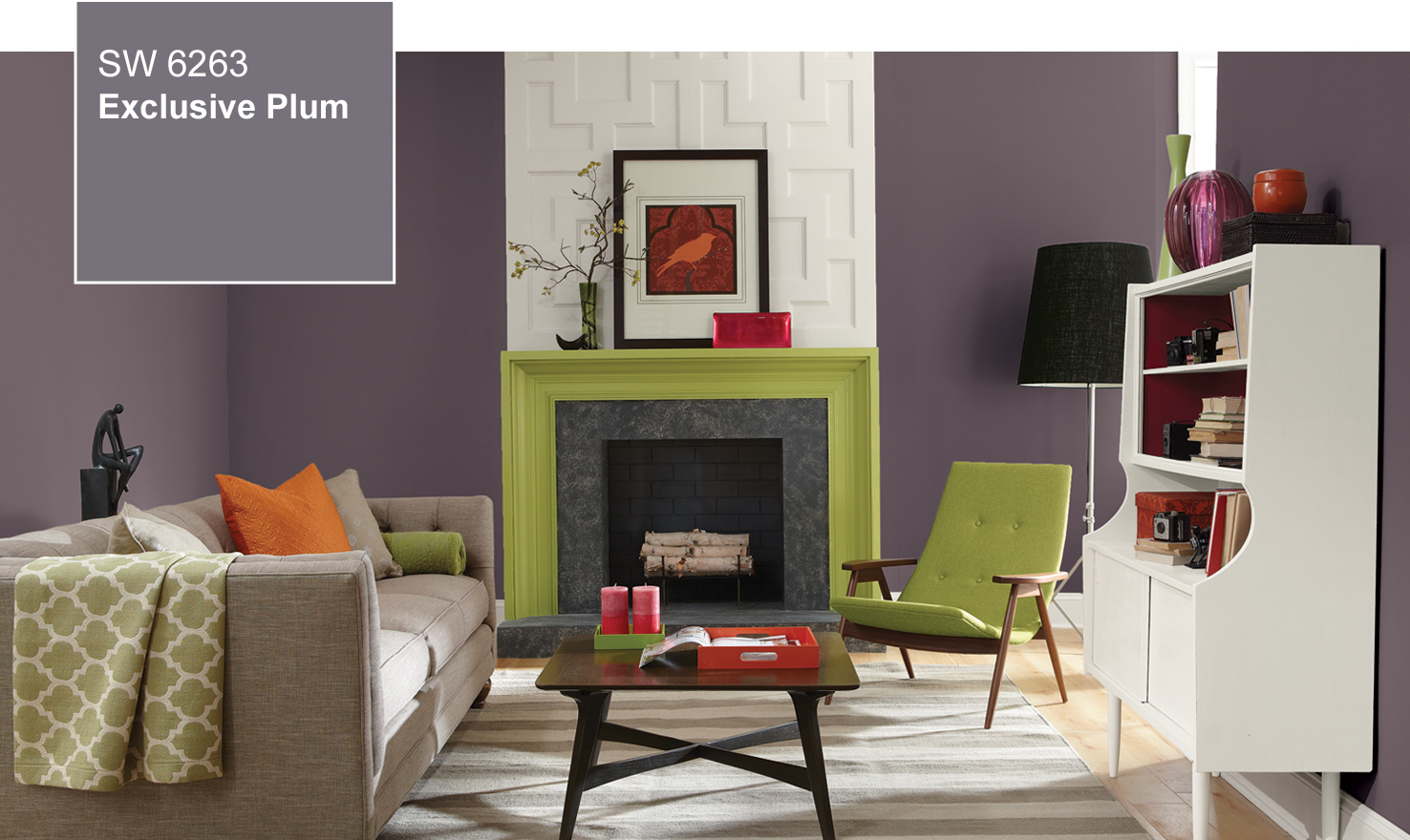 Exclusive Plum, Sherwin-Williams 2014 Color of the Year, photo