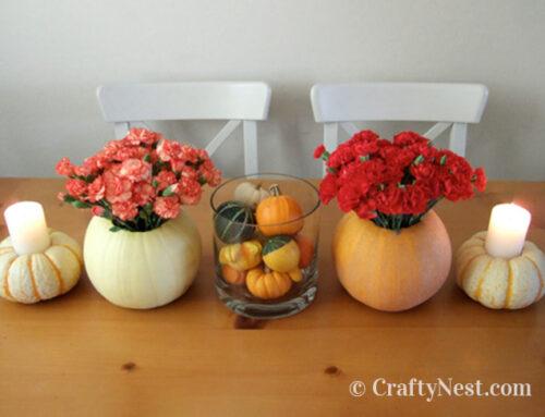 Fall pumpkin centerpiece ideas