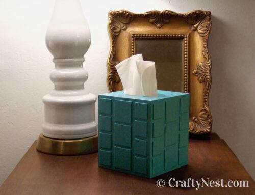 Mod tissue box cover