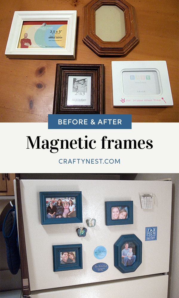 Craafty Nest mini magnetic picture frames Pinterest photo