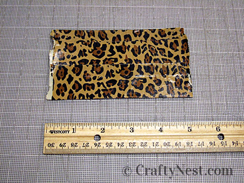 Duct tape wallets, step #8, photo