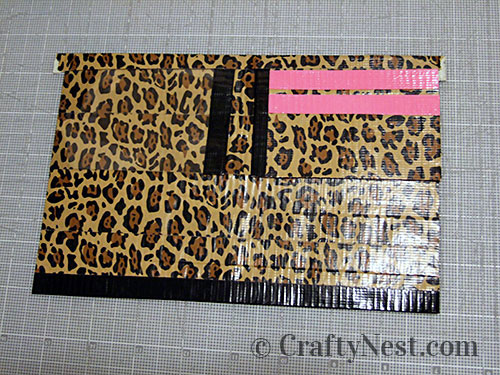 Duct tape wallets, step #20, photo