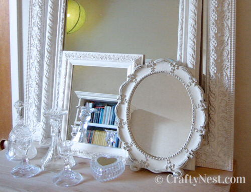 Decorating idea: grouping like objects
