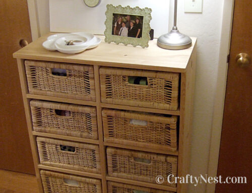 Basket drawer unit