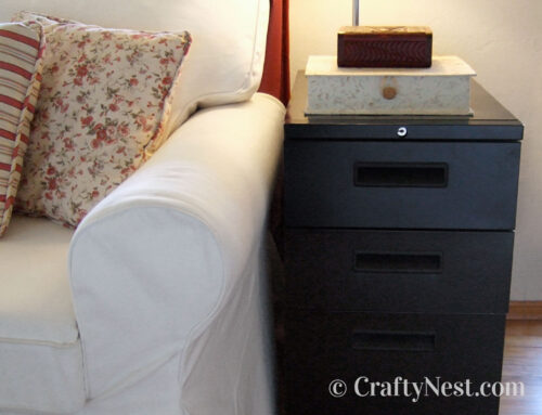 File cabinets = toolbox side tables