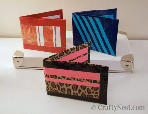 Camp craft: DIY duct tape wallets
