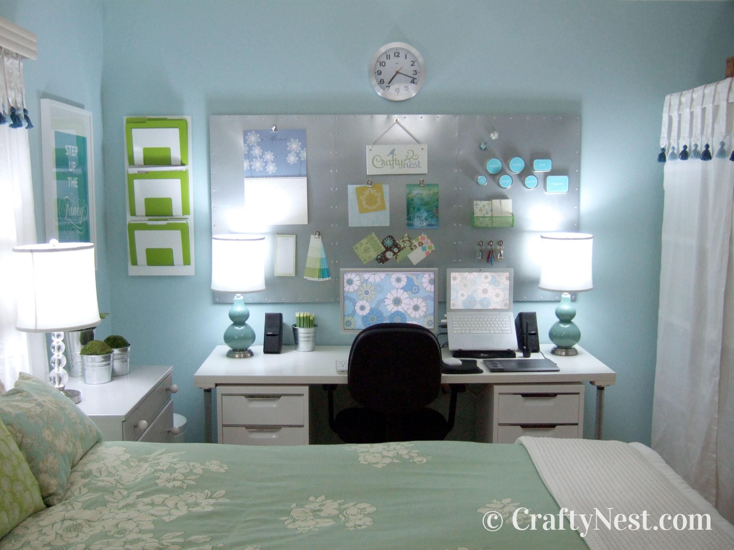 Desk, after photo