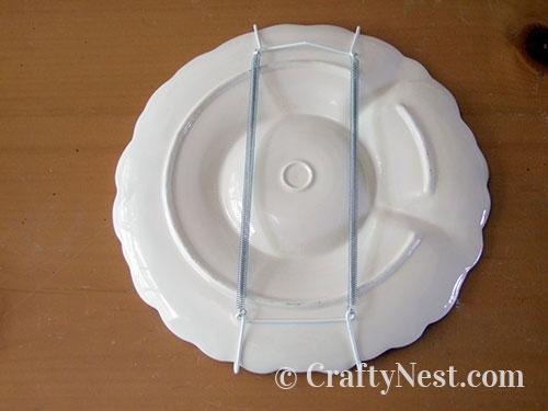 Attach plate hanger, photo