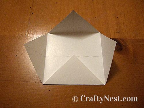 Folding, step 1, photo