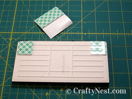 Adhere mounting squares, photo