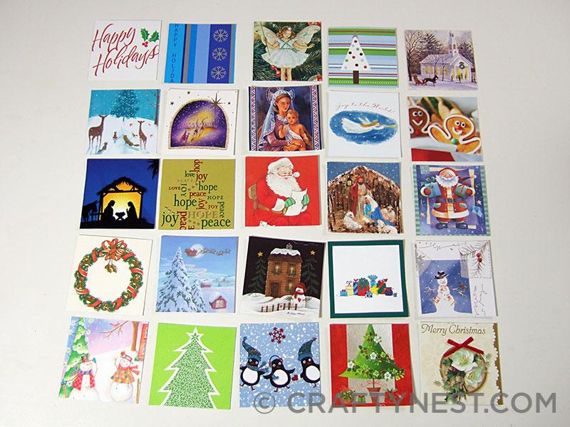 Arrange the cards, photo
