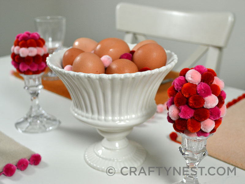 Easter centerpiece, photo
