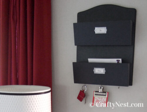 Mail sorter & key holder
