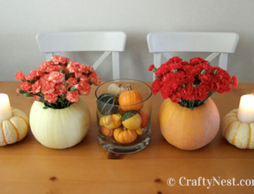 Fall pumpkin centerpiece ideas