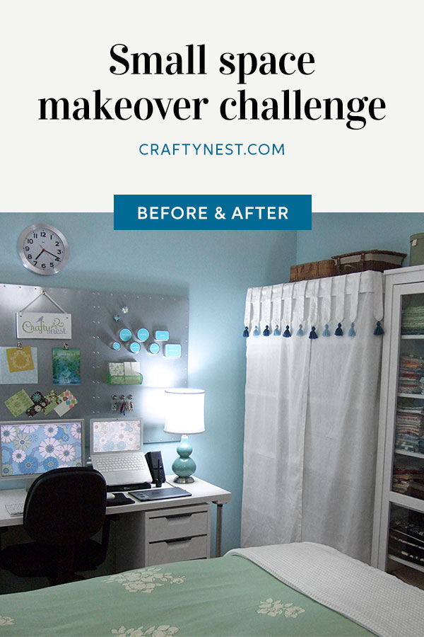 Crafty Nest Sylvania room makeover challenge Pinterest image