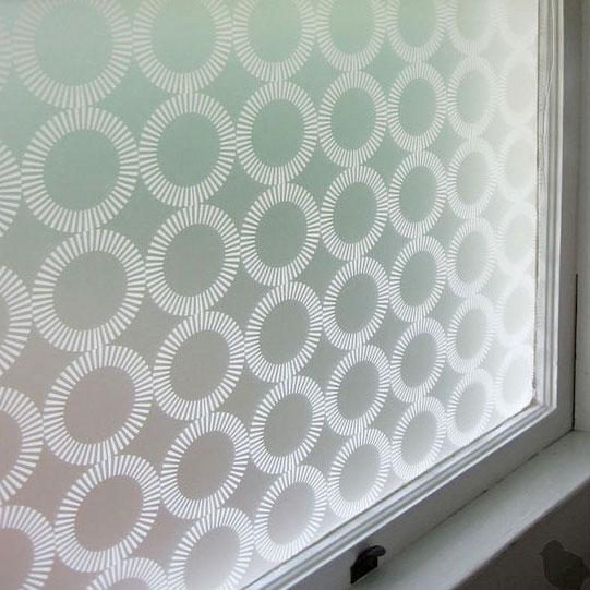 Emma Jeffs White Orba Adhesive window film, photo