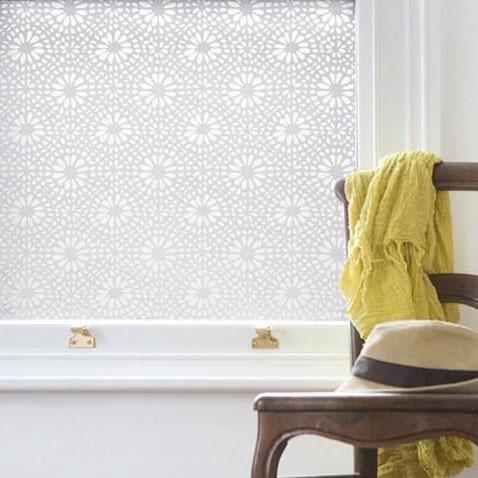 Emma Jeffs White Otto Tile Adhesive window film, photo