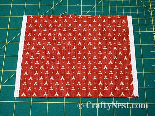 Step 1, tissue pouch, photo