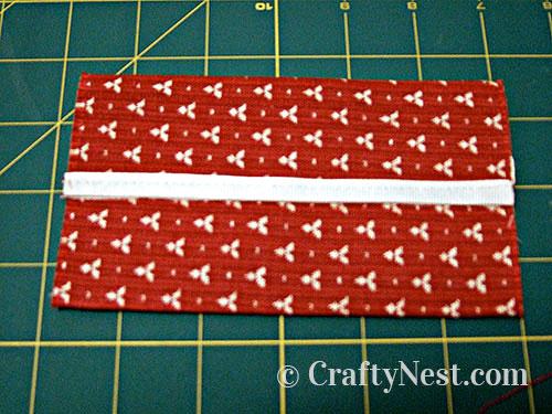 Step 2, tissue pouch, photo