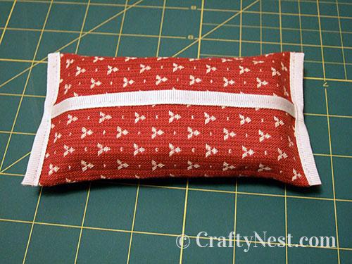Step 4, tissue pouch, photo