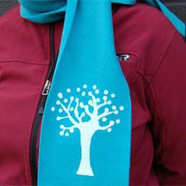 Curbly fleece scarf, photo