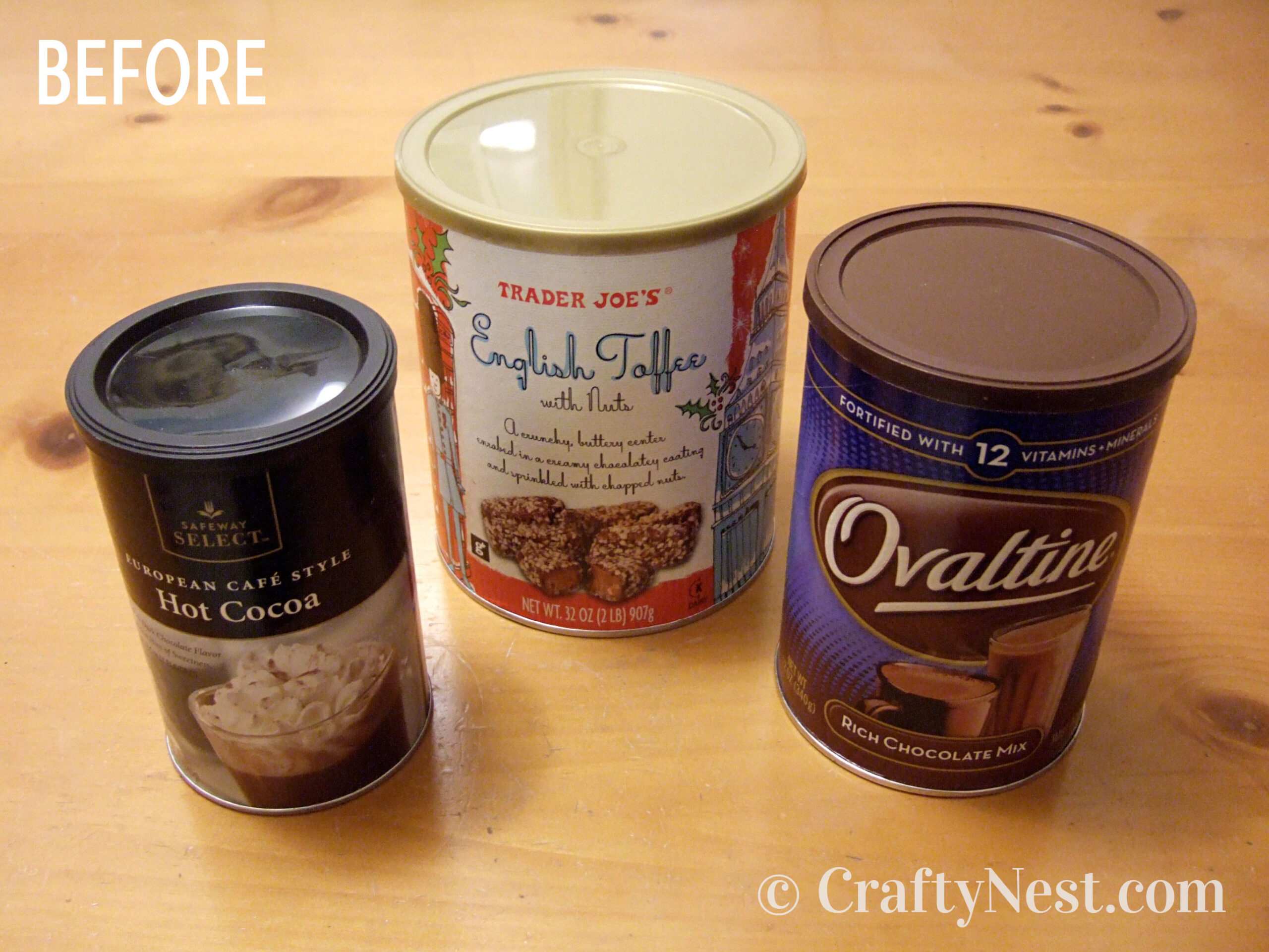 Food canisters, photo