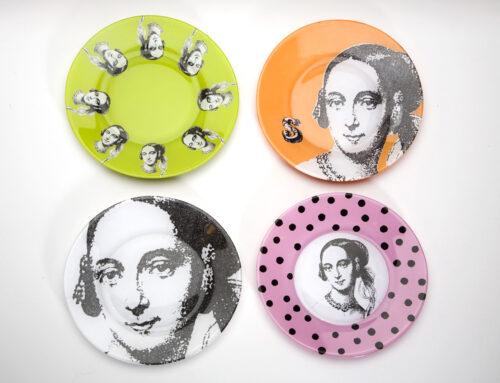 Carol's DIY decoupage plates