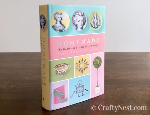 Book review: Homemade by Carol Endler Sterbenz + a giveaway