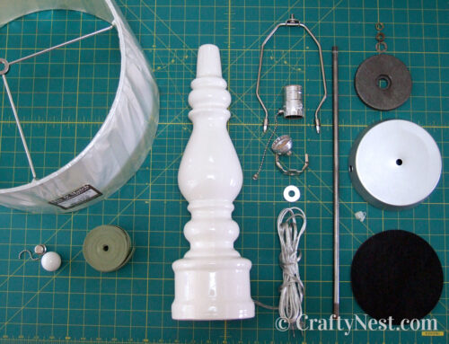 Rewire a table lamp