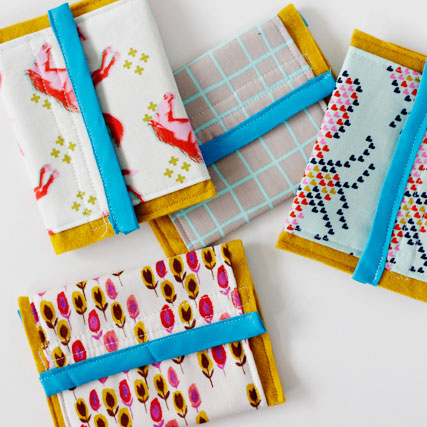 Velcro wallets by See Kate Sew, photo