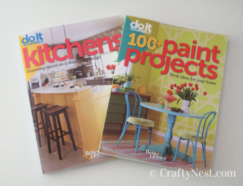Book reviews: DIY Kitchens and 100+ Paint Projects + a giveaway