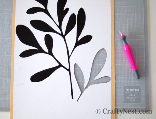Craftiness with X-Acto knives + a giveaway