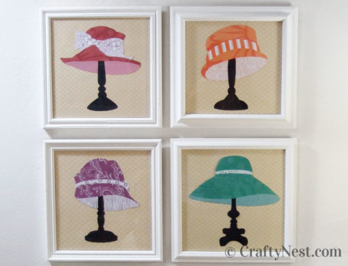 The hats of Victoria: DIY paper silhouettes